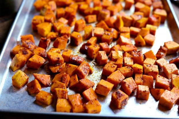 Warn Butternut, Kale + Quinoa Salad l SimplyScratch.com (5)