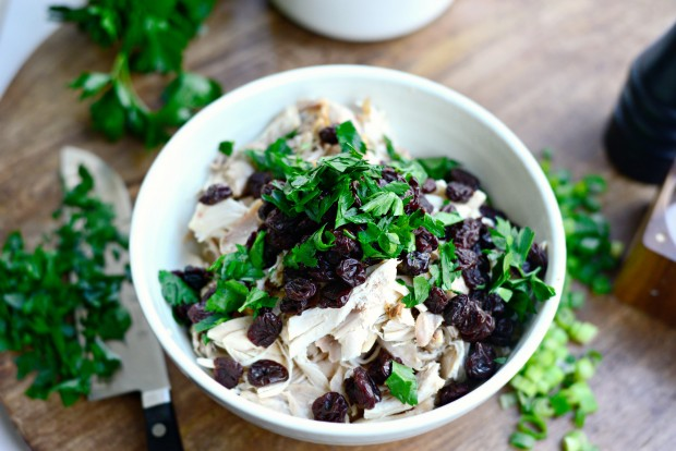 Dried Cherry + Toasted Almond Chicken Salad l Simply Scratch (12)