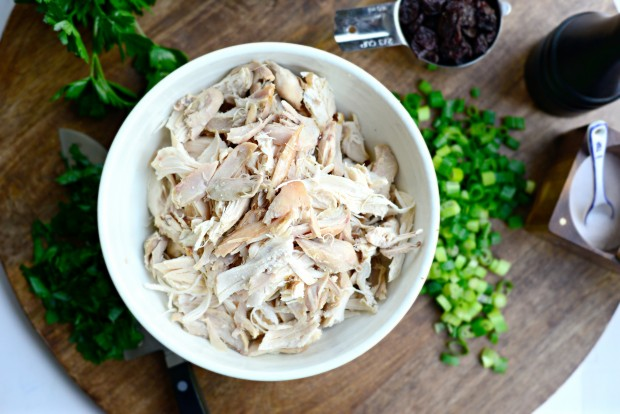 Dried Cherry + Toasted Almond Chicken Salad l Simply Scratch (9)