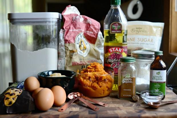 Pumpkin Chocolate Chip Muffins l SimplyScratch.com (1)