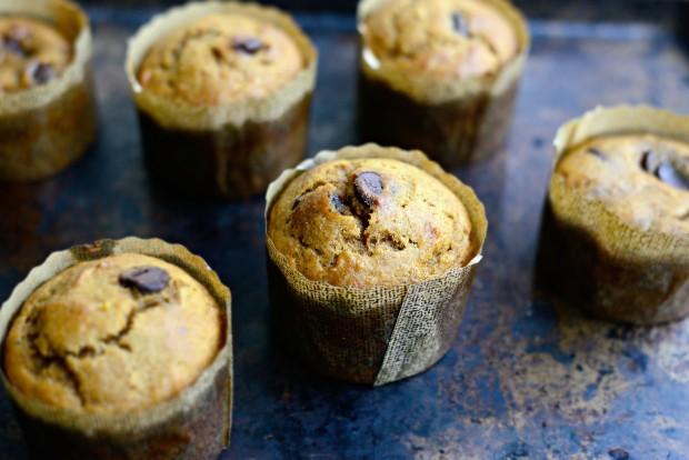 Pumpkin Chocolate Chip Muffins l SimplyScratch.com (25)