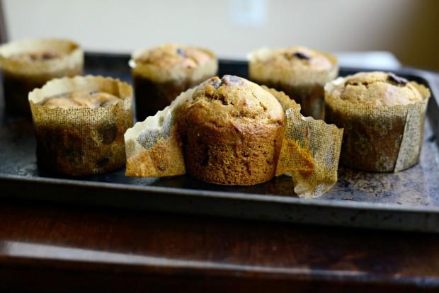 Pumpkin Chocolate Chip Muffins l SimplyScratch.com (27)