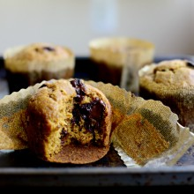Pumpkin Chocolate Chip Muffins l SimplyScratch.com  (29)
