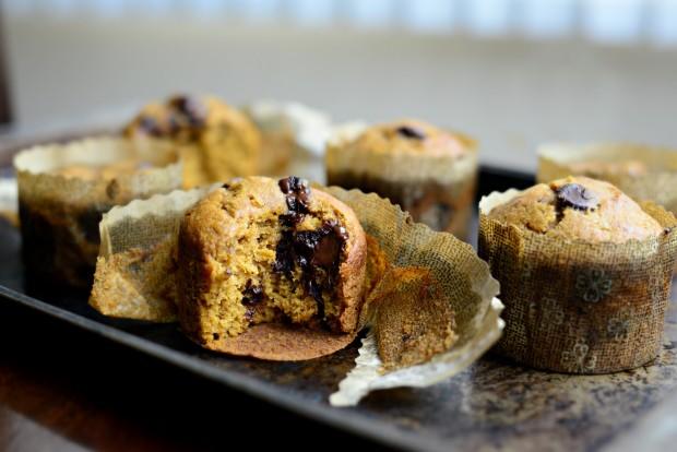 Pumpkin Chocolate Chip Muffins l SimplyScratch.com (30)