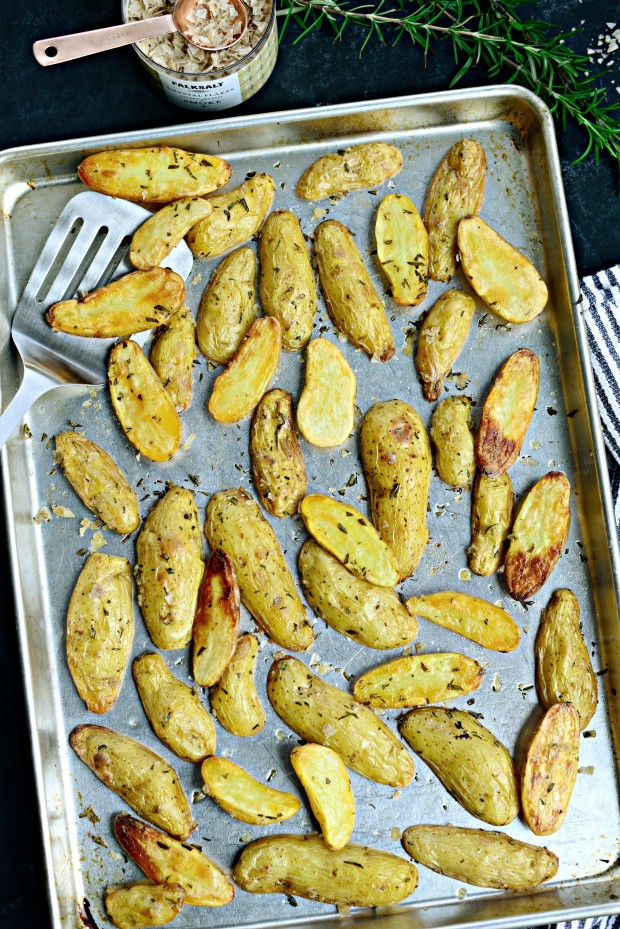 Roasted Rosemary + Smoked Salt Fingerlings l SimplyScratch.com (14)