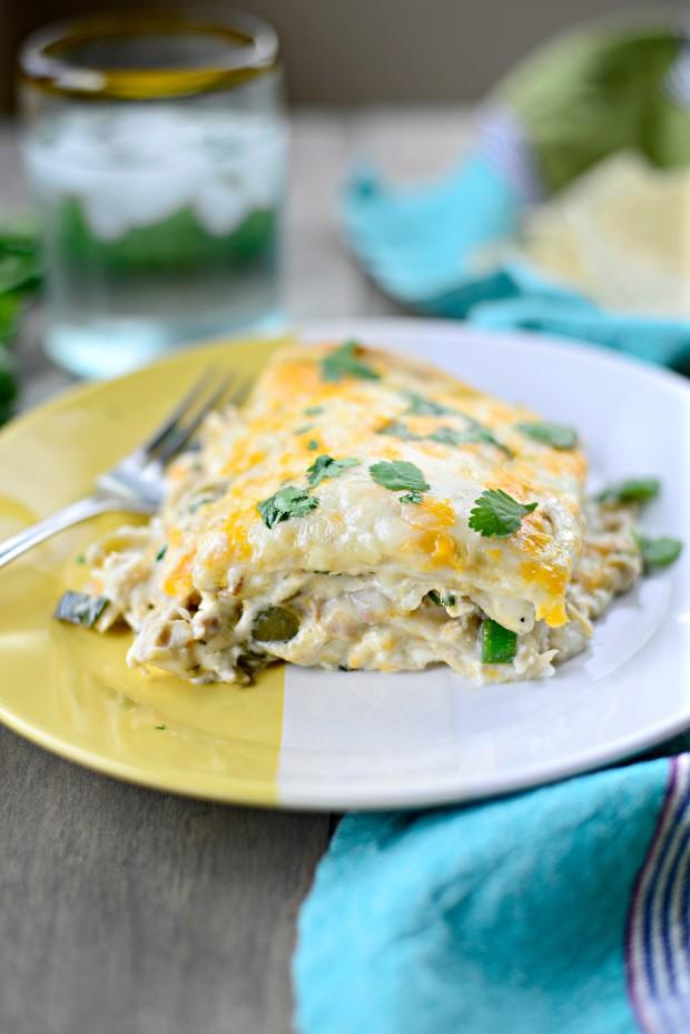 White Chicken Enchilada Lasagna l SimplyScratch.com (34)