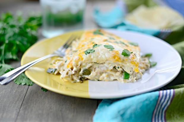 White Chicken Enchilada Lasagna l SimplyScratch.com (35)