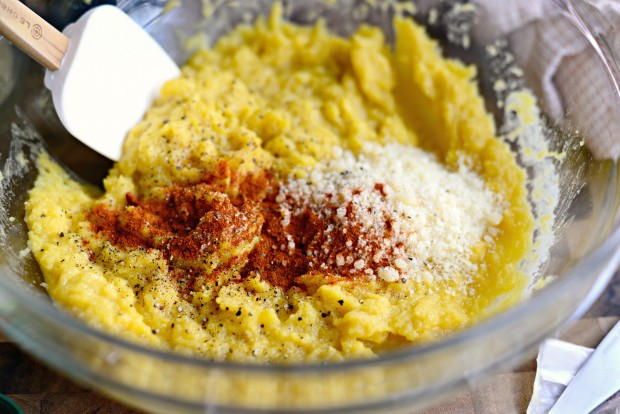 Twice Baked Spinach + Parmesan Acorn Squash l SimplyScratch.com (13)