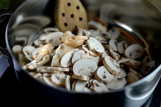 Bacon, Mushroom + Leek Risotto l SimplyScratch (3)