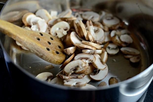 Bacon, Mushroom + Leek Risotto l SimplyScratch (4)