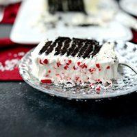 Peppermint Icebox Cake