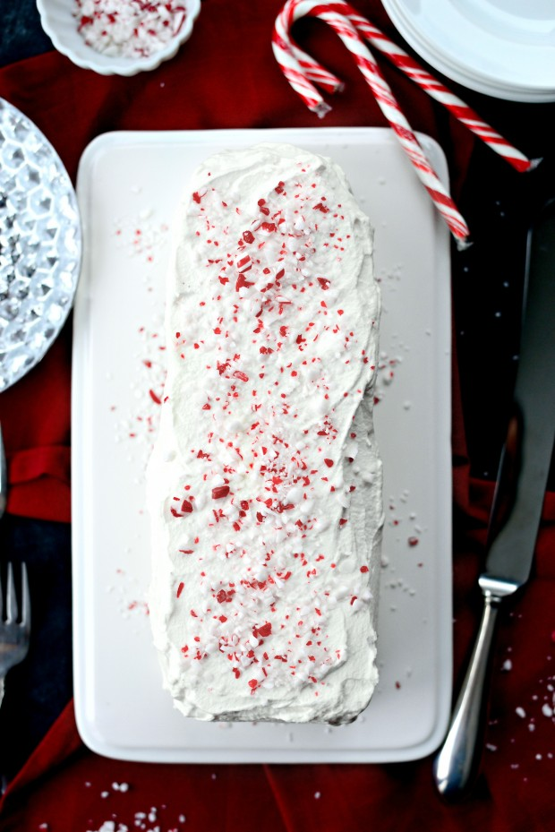 Peppermint Icebox Cake l SimplyScratch.com