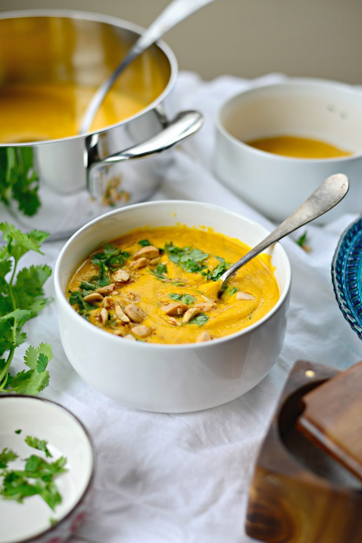Roasted Ginger Carrot Soup