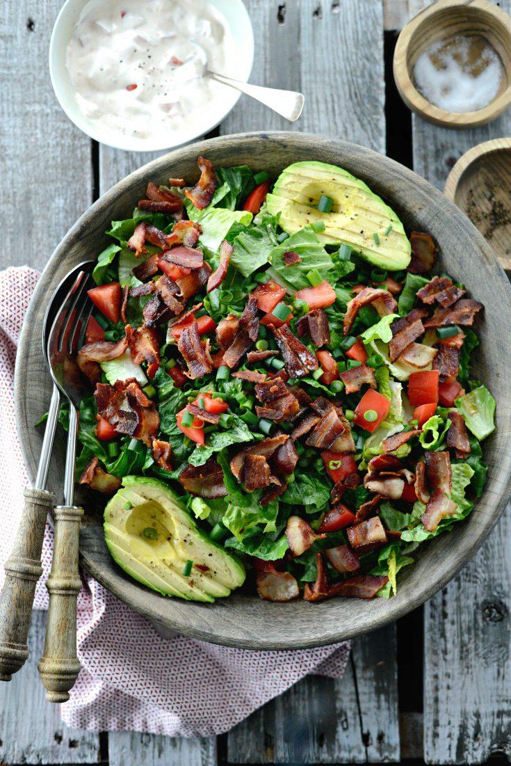 B.L.A.T Salad
