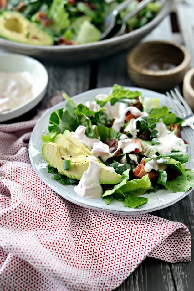 B.L.A.T. Salad l SimplyScratch.com
