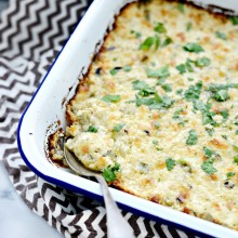 Cheesy Chicken Dip l SimplyScratch.com  (17)