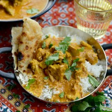 Butter Chicken l SimplyScratch.com