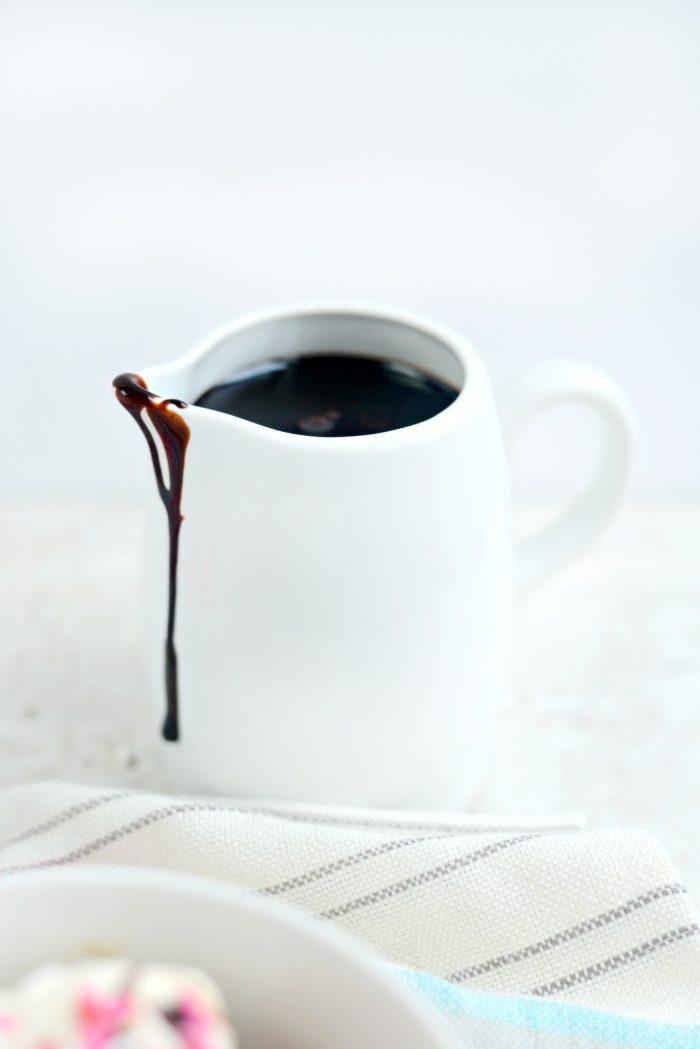 Homemade Chocolate Syrup ll SimplyScratch.com