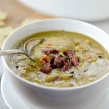 Split Pea Soup with Ham l SimplyScratch.com  (31)