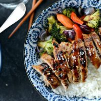 Teriyaki Chicken Rice Bowls