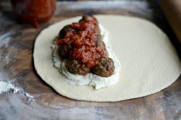 Italian Meatball Calzones l SimplyScratch.com (16)