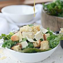 Kale Caesar Salad l SimplyScratch.com  (22)