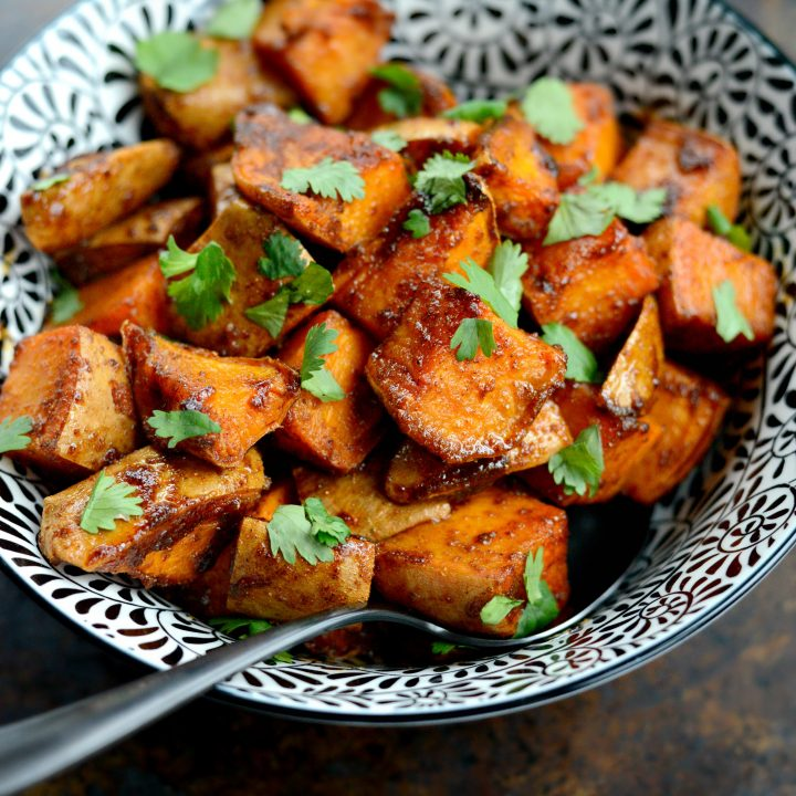 Sweet and Smoky Sweet Potatoes