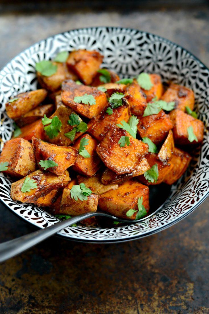 Sweet and Smoky Sweet Potatoes