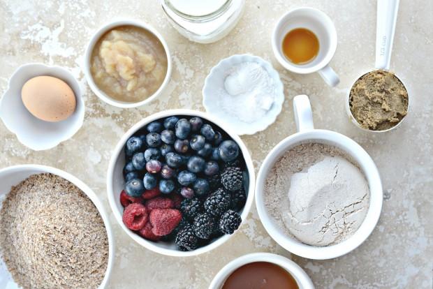 Triple-Berry Bran Muffins l SimplyScratch.com (1)