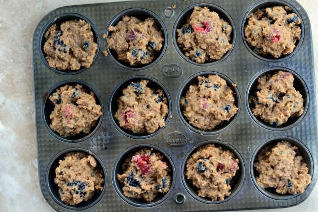 Triple-Berry Bran Muffins l SimplyScratch.com (14)