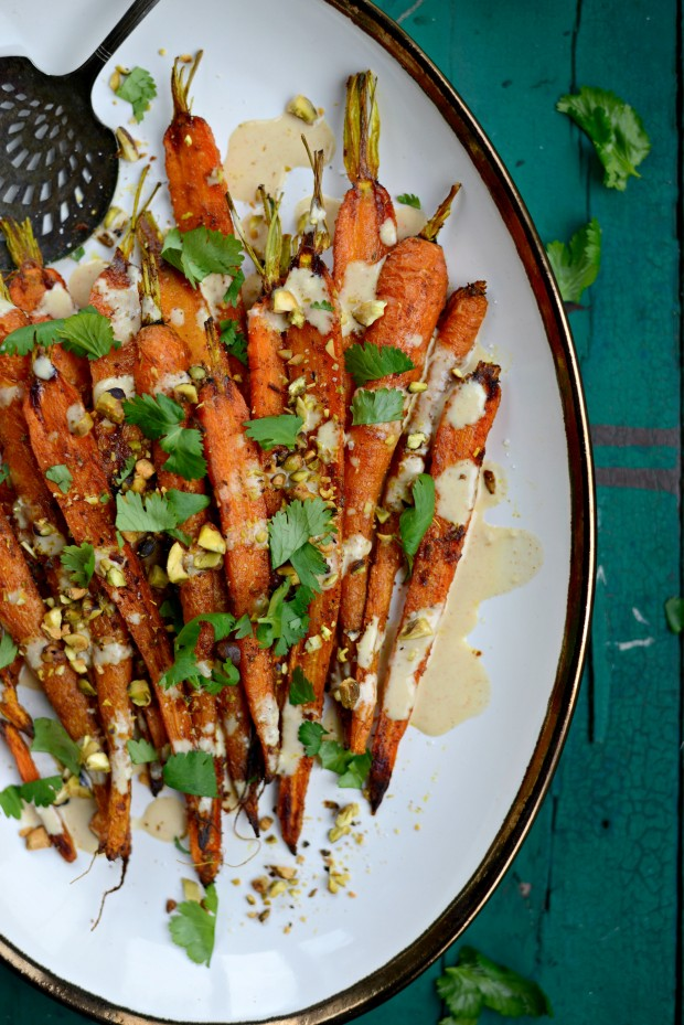 Turmeric Roasted Carrots + Lemon Tahini Dressing l SimplyScratch.com (23)