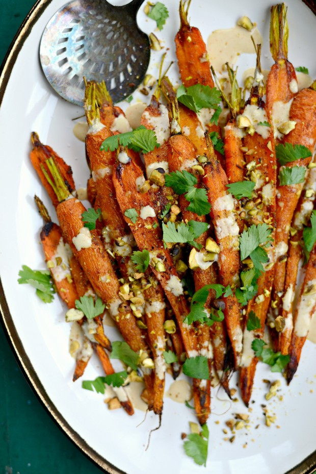 Turmeric Roasted Carrots + Lemon Tahini Dressing l SimplyScratch.com (26)