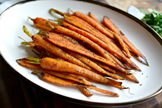 Turmeric Roasted Carrots + Lemon Tahini Dressing l SimplyScratch.com (31)