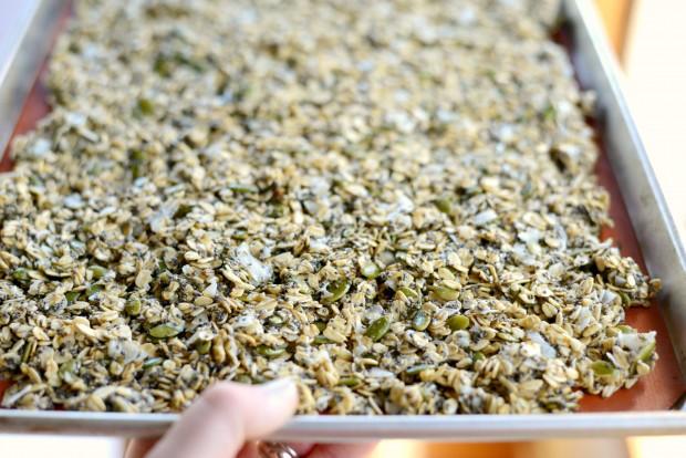 Coconut Chia Granola l SimplyScratch.com (9)