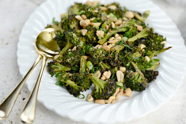 Roasted Broccoli with Peanuts l SimplyScratch.com (13)