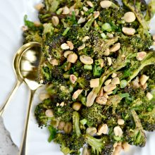 Charred Broccoli with Peanuts l SimplyScratch.com  (14)