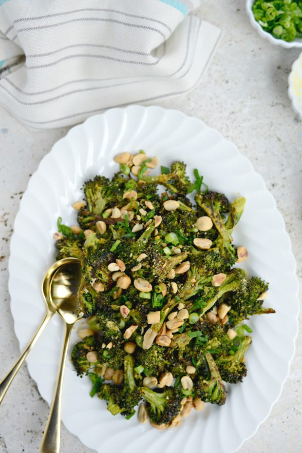 Roasted Broccoli with Peanuts l SimplyScratch.com (15)