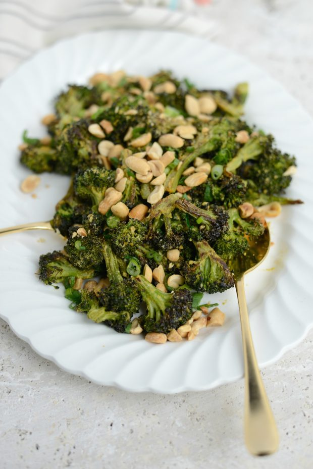 Roasted Broccoli with Peanuts l SimplyScratch.com (16)