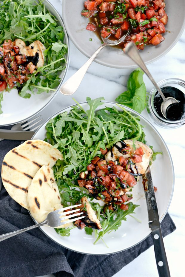 12. This Grilled Chicken Bruschetta is beyond easy and healthy too ...