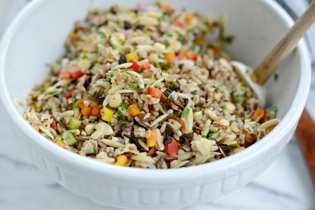J. Alexander's Wild Rice and Orzo Salad l SimplyScratch.com (16)