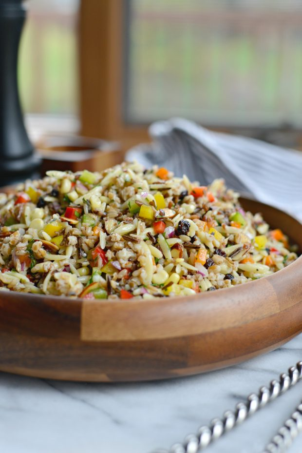J. Alexander's Wild Rice and Orzo Salad l SimplyScratch.com (20)