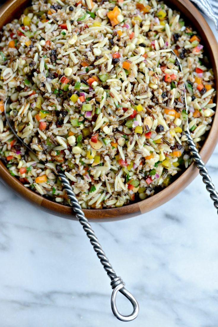 J. Alexander's Wild Rice and Orzo Salad