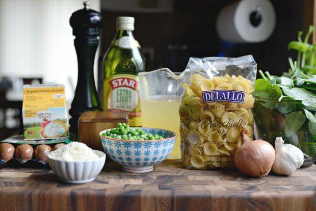 One-Pan Creamy Orecchiette Pasta l SimplyScratch (1)