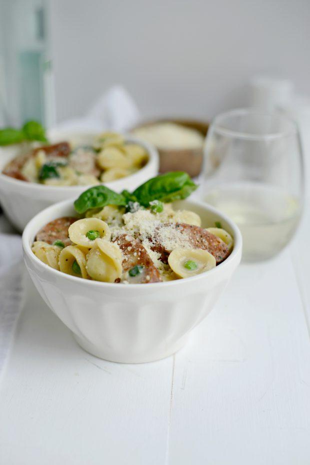 One-Pan Creamy Orecchiette Pasta l SimplyScratch (19)