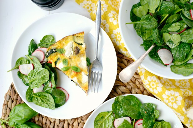 Vegetable + Goat Cheese Frittata l SimplyScratch.com (13)