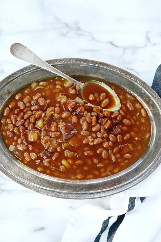 5-Ingredient Barbecue Bacon Baked Beans l SimplyScratch.com (0019)