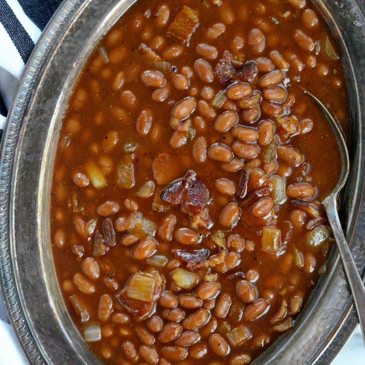 5-ingredient Barbecue Bacon Baked Beans