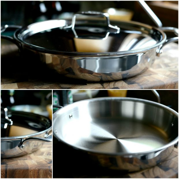 All-Clad d5 Stainless-Steel 4-Qt. All-In-One Pan