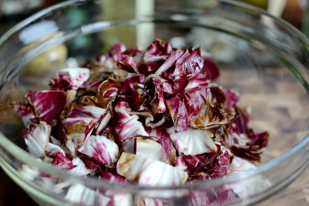 Grilled Radicchio, Bell Pepper + Olive Panzanella l SimplyScratch.com (18)