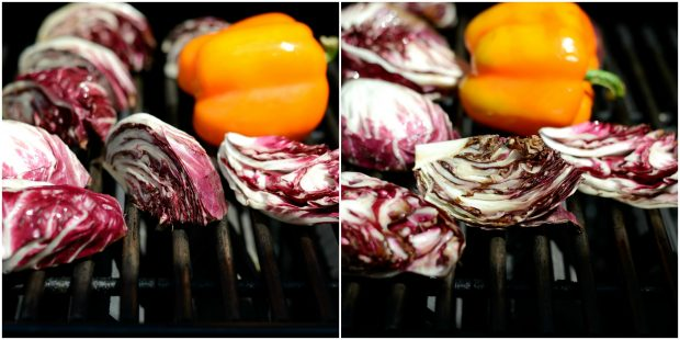 Grilled Radicchio, Bell Pepper + Olive Panzanella l SimplyScratch.com (30)